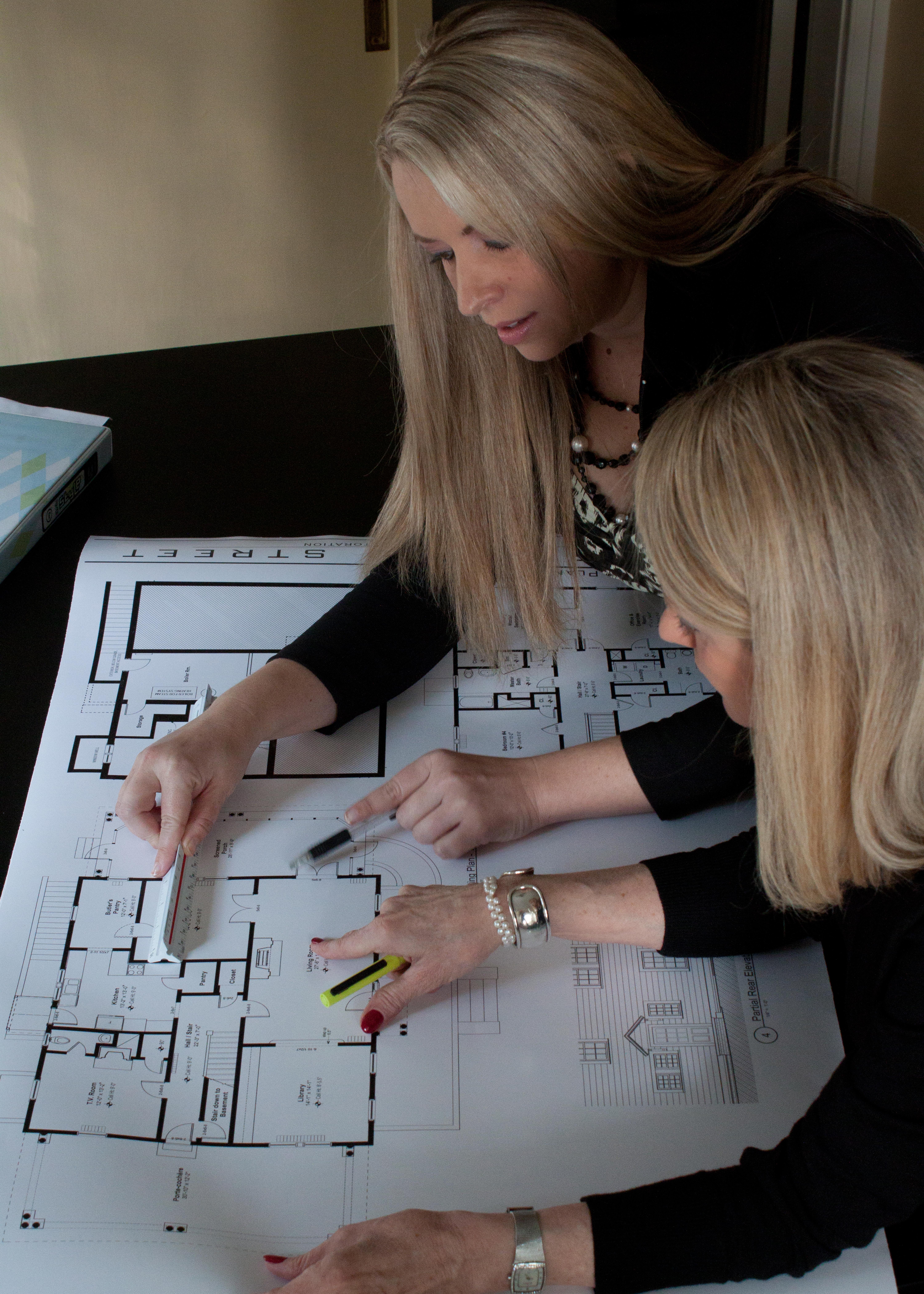 Top Greensboro Interior Designers Mary Elizabeth Beal And Madge Megliola