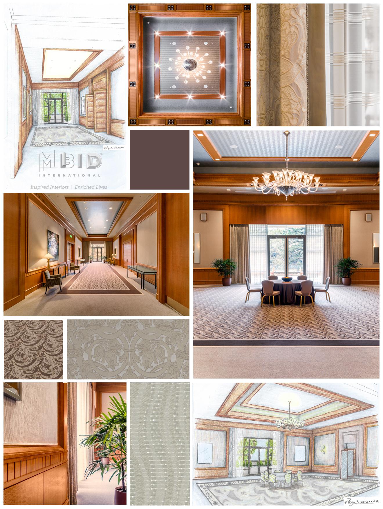 Luxury Hotel Event Center Interior Design North Carolina