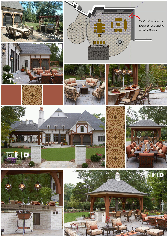 Outdoor Kitchen Patio Design Greensboro North Carolina Mbid International