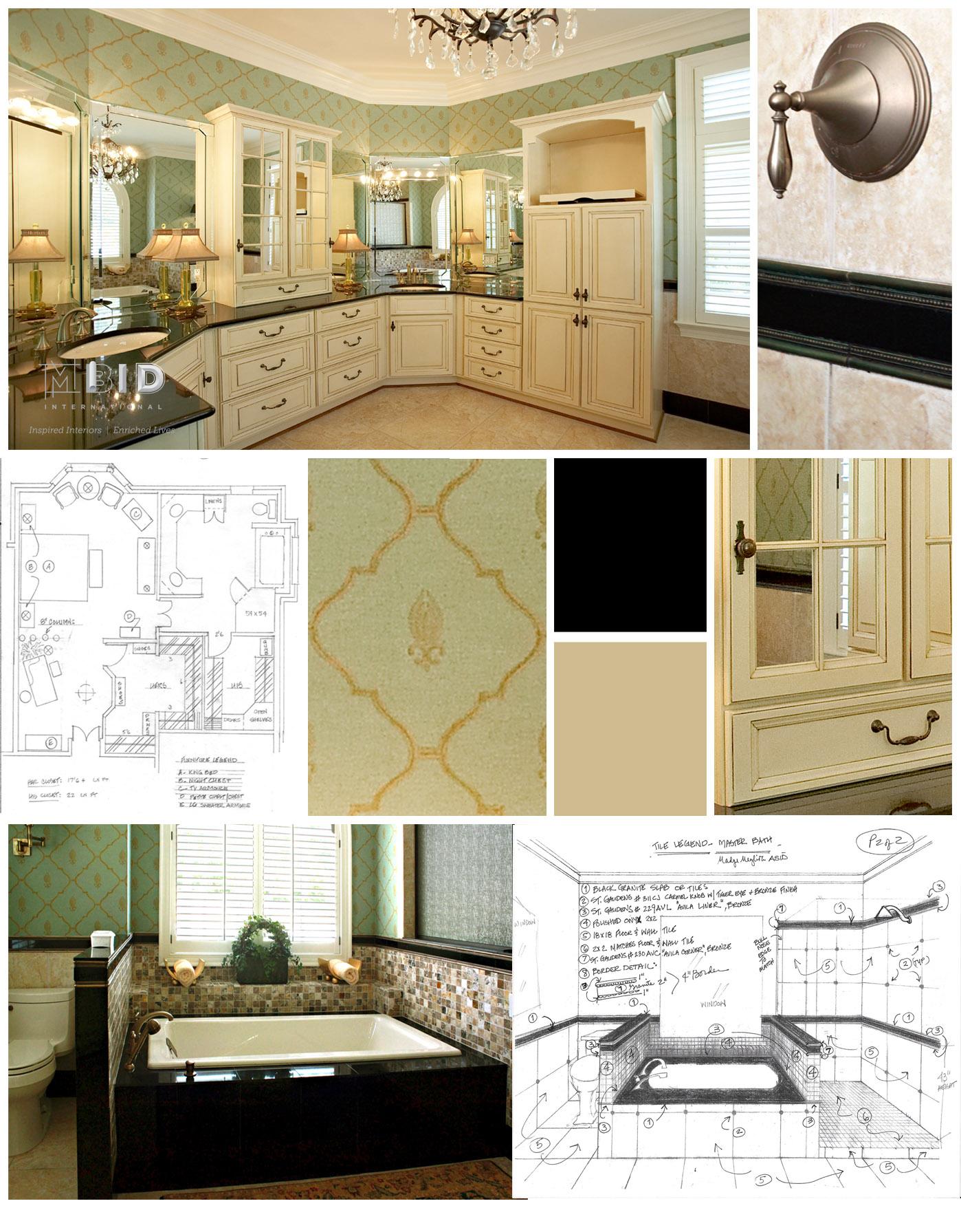 Master Bathroom Design North Carolina Spa Bathroom Interior Mbid International