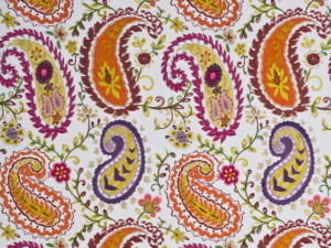 Jumbo Paisley in Spring Colors by Lee Jofa