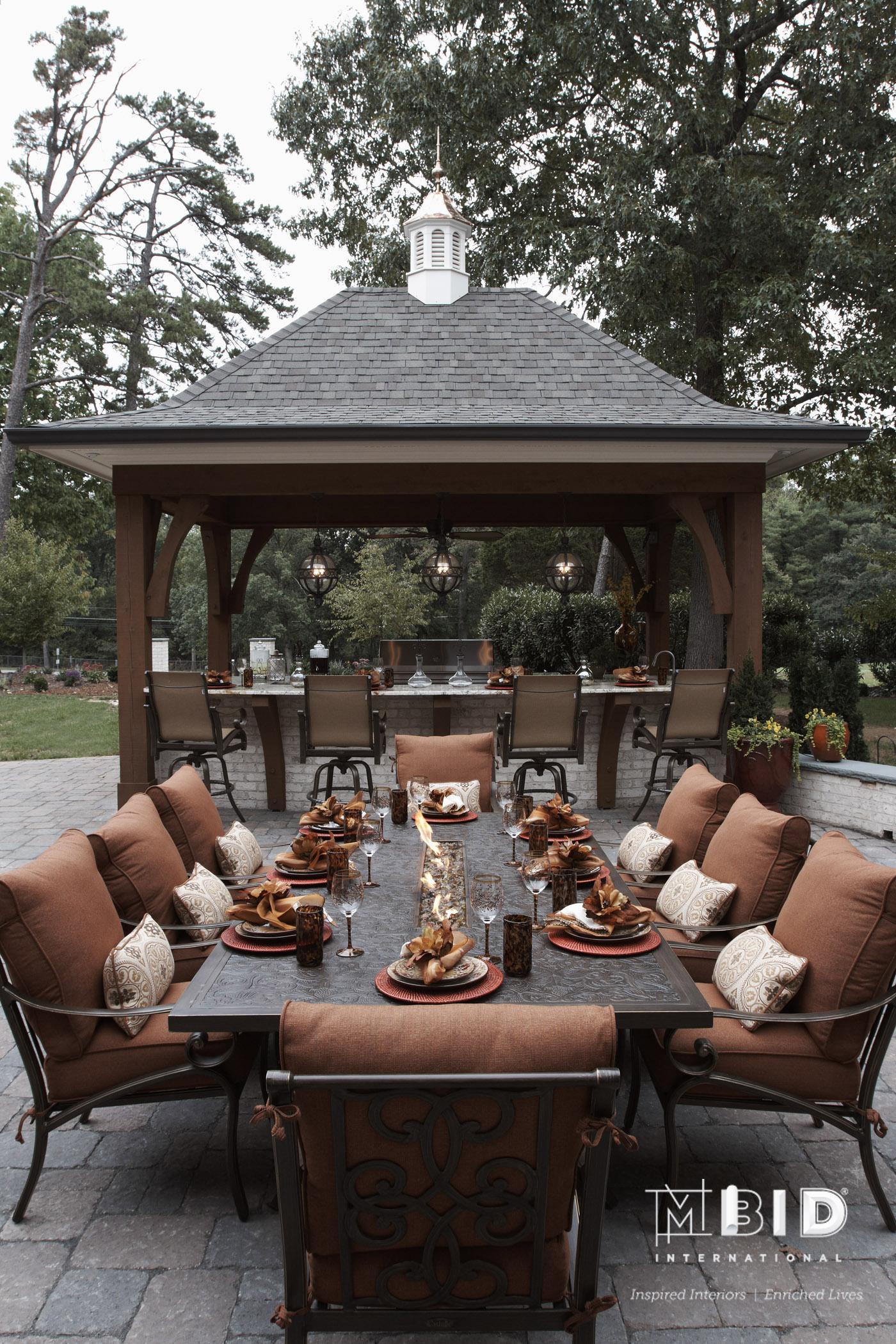 Greensboro NC Outdoor Kitchen Design