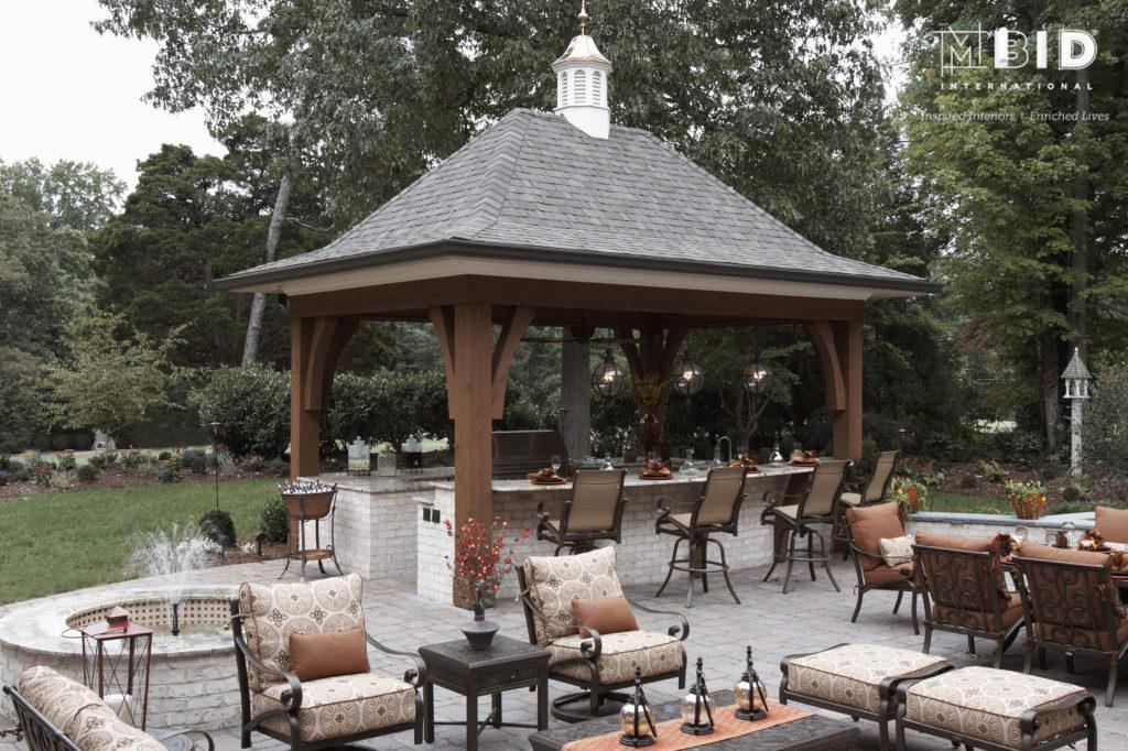 North Carolina Outdoor Kitchen Design Patio Design Greensboro