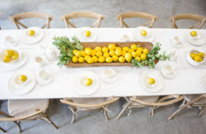 Fresh Summer Tablescapes